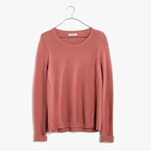 Madewell Riverside Texture Crew Neck Sweater